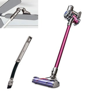 Dyson DC59 Motorhead Plus Stick Vacuum With Bonus Tools- Fuchsia/Iron - fuchsia and iron
