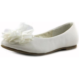 Tip Top Cinderella Round Toe Synthetic Flats