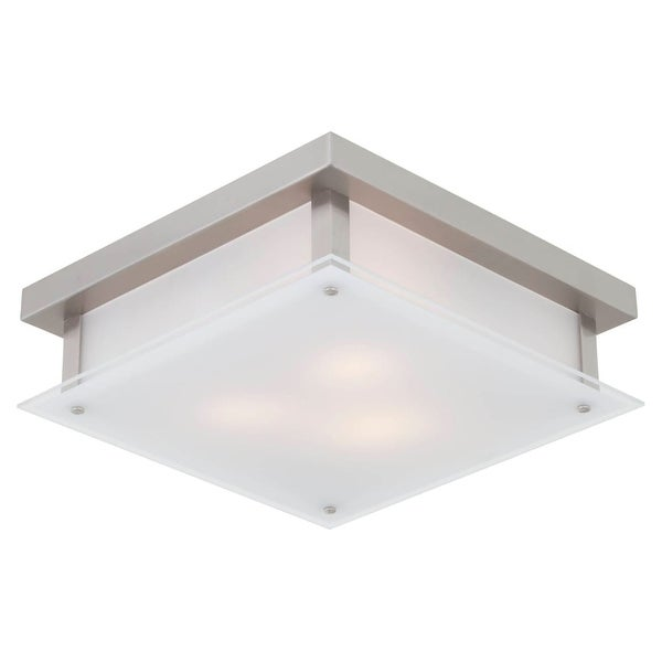 Dvi Lighting Dvp10351 Helios 3 Light Flush Mount Ceiling Fixture