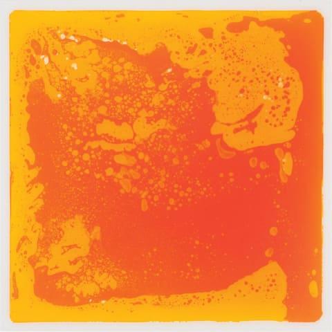 Kaplan Early Learning Company Liquid Tile Mat - Orange