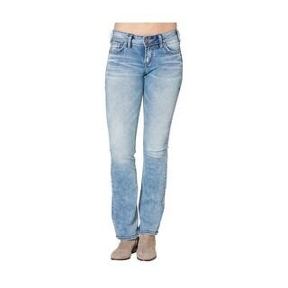 Silver Jeans Denim Womens Suki Bootcut Light Wash L93715SSX118