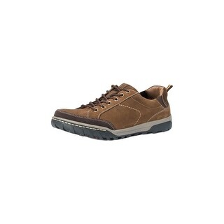 Muk Luks Casual Shoes Mens Max Lace Up Leather Soft Lining