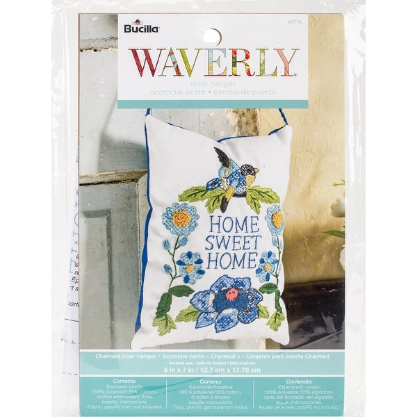 Shop Stamped Embroidery Door Hanger Kit 5x7 Waverly Charmed Free
