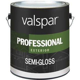 Valspar Ext S/G White Paint 045.0012900.007 Unit: GAL