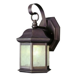 Trans Globe Lighting 4870 Single Light Up Lighting Outdoor Small Hexagon Wall Sconce from the Outdoor Collection