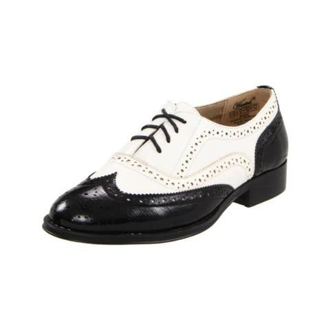Wanted Womens Babe Oxfords Faux Leather Wingtip