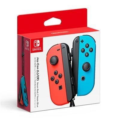 Nintendo Hacajaeaa Neon Blue-Red Wireless Joy Con Left-Right For Nintendo Switch