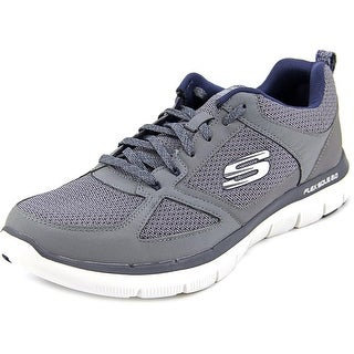 Skechers Flex Advantage 2.0 Men  Round Toe Synthetic Gray Running Shoe