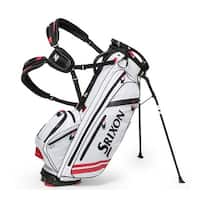 New Srixon Z-Four Stand Bag - White / Red - White / Red