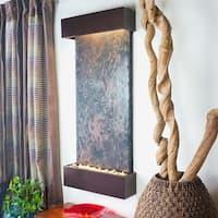 Nojoqui Falls Lightweight Large Fountain Shroud Finish: Copper Vein Powder Coate
