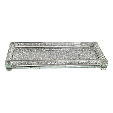 Ambrose Exquisite Small Glass Tray in Gift Box