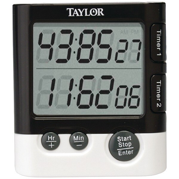 TAYLOR 5828 Dual Event Digital Timer/Clock