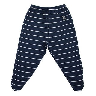 Baby Footed Pants Unisex Infant Striped Trousers Pulla Bulla Sizes 0-18 Months (2 options available)