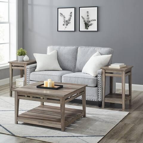 The Gray Barn Farmhouse 3-Piece Table Set