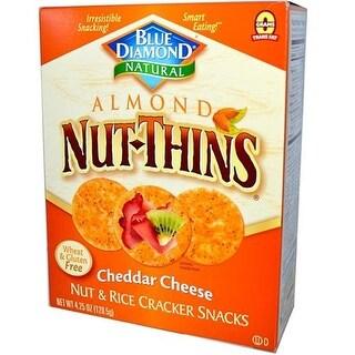 Blue Diamond - Cheddar Cheese Nut Thins ( 12 - 4.25 OZ)