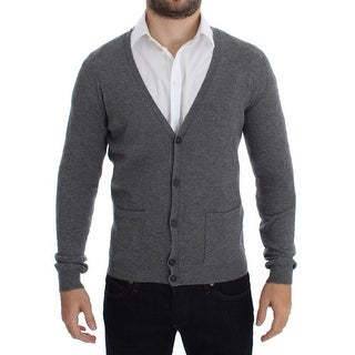 Costume National Costume National Gray Wool Cashmere Cardigan