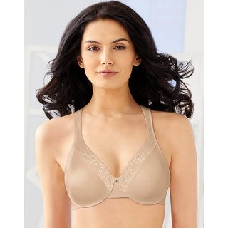 Bali Cool Conceal Minimizer Underwire Bra - Size - 36C - Color - Champagne Shimmer