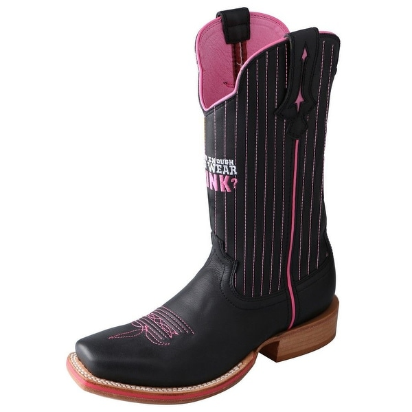 Twisted X Western Boots Womens Red River Tough Enough Black