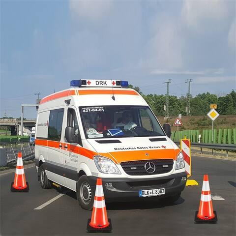"Oshion (6 pcs) 21""PVC American Road Cone Reflective Cone Warning Cone"