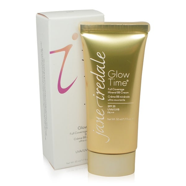 Jane Iredale Glow Time Full Coverage Mineral BB Cream, BB7 Medium, 1.7 Oz Decleor Prolagene Lift Lavender & Iris Lift & Firm Rich Day Cream  50ml/1.7oz