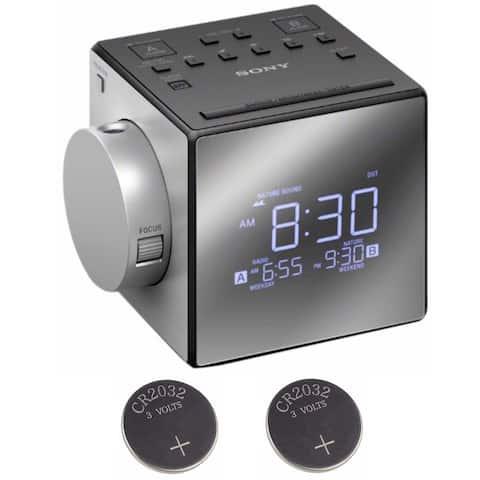 Sony ICFC1PJ Alarm Clock Radio Bundle