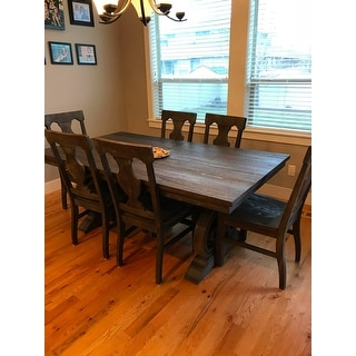 Shop Rowyn Wood Extending Dining Table Set by iNSPIRE Q Artisan ...