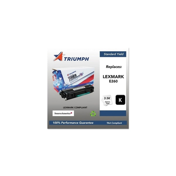 Triumph Remanufactured E260 Toner Cartridge - Black Toner Cartridge