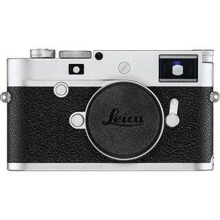 Leica M10-P Digital Rangefinder Camera (Silver Chrome)