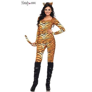 Wild Tigress Costume, Female Tiger Costume