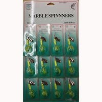 FJ Neil Marble Spinners 1/4oz Chartreuse