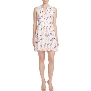 Cynthia Steffe Womens Casual Dress A-Line Leafy - 6