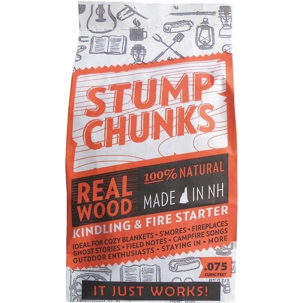 Stump Chunks .075 Cu Ft Fire Starter