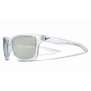 Nike Mens Essential Spree Clear with Grey Super Silver Flash Lens Sunglasses