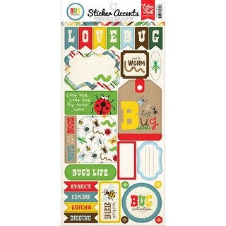 """Bug Collection Stickers 6""""X12""""-"""