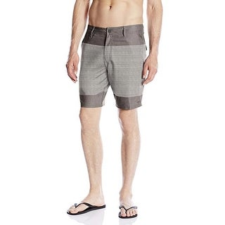 O'Neill Men's Townes Hybrid 36 Steel Grey Boardshort Swim Trunks