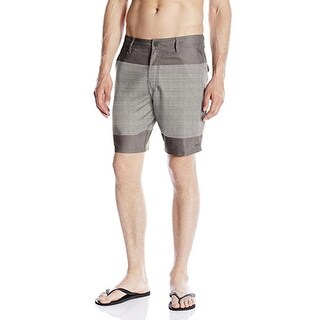 O'Neill Men's Townes Hybrid 38 Steel Grey Boardshort Swim Trunks