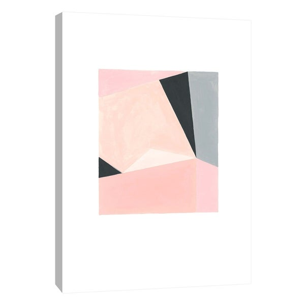"""PTM Images 9-105622 PTM Canvas Collection 10"""" x 8"""" - """"Pastel Fractals 5"""" Giclee Abstract Art Print on Canvas"""