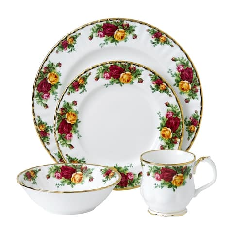 Old Country Roses 4-Piece Set