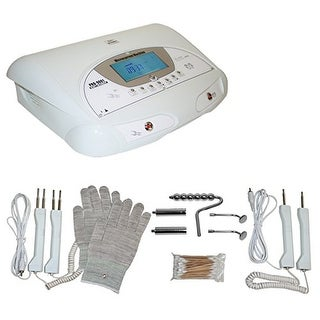 LCL Beauty 2-in-1 Fully Digital Bio-Lift Microcurrent & Magic Hands Bio Massage Facial Machine