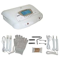 LCL Beauty 2-in-1 Fully Digital Bio-Lift Microcurrent and Magic Hands Bio Massage Facial Machine