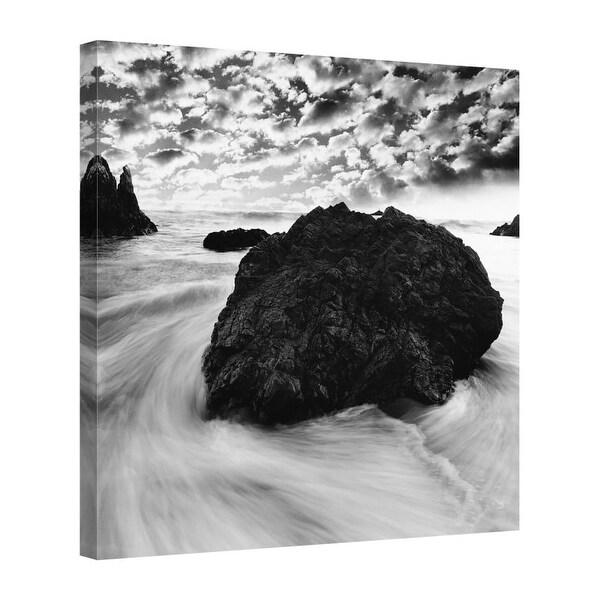 Easy Art Prints PhotoINC Studio's 'Tide Swirl' Premium Canvas Art