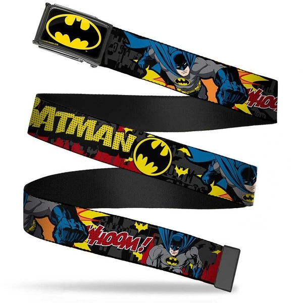 Batman Fcg Black Yellow Chrome Batman In Action Batman Whoom! Red Web Belt