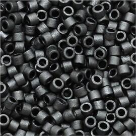 Miyuki Delica Seed Beads 11/0 'Matte Dark Grey' DB306 7.2 GR