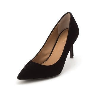 7e992206f8d0 Quick View. Was  67.32.  10.10 OFF.  57.22. Calvin Klein Womens GAYLE  Leather Pointed Toe Classic Pumps