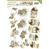 Find It Trading Precious Marieke Punchout Sheet-Springtime