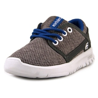 Etnies Kids Lo Cut   Round Toe Synthetic  Sneakers