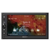 Sony XAV-AX100 Digital Multimedia Touchscreen Receiver with Apple CarPlay and Android Auto