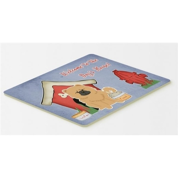 Carolines Treasures BB2898CMT Dog House Collection Chow Chow Cream Kitchen or Bath Mat 20 x 30