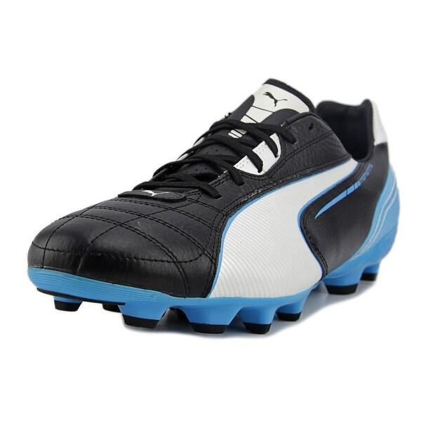 Puma Momentta MG Men Black-White-Fluo-Blue Cleats