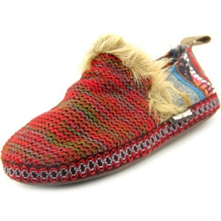 Muk Luks Ammie Round Toe Synthetic Slipper